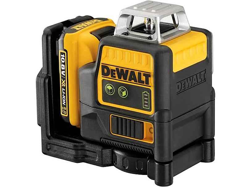 Лазер самовыравнивающийся 2-х плоскостной DeWALT DCE0811D1G