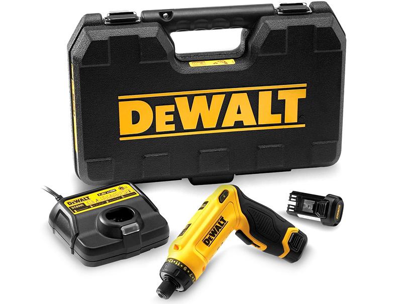 Аккумуляторный гироскопический шуруповерт DeWALT DCF680G2