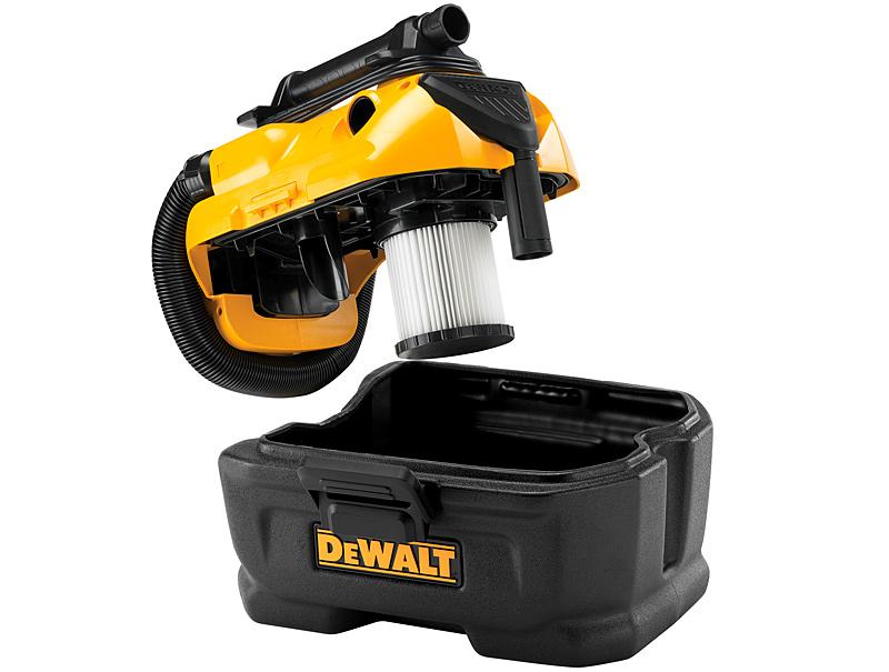 Аккумуляторно-сетевой пылесос DeWALT DCV584L