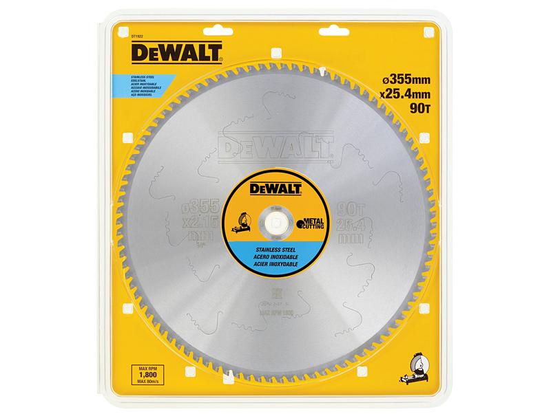 Пильный диск (355х25,4мм) DeWALT DT1922