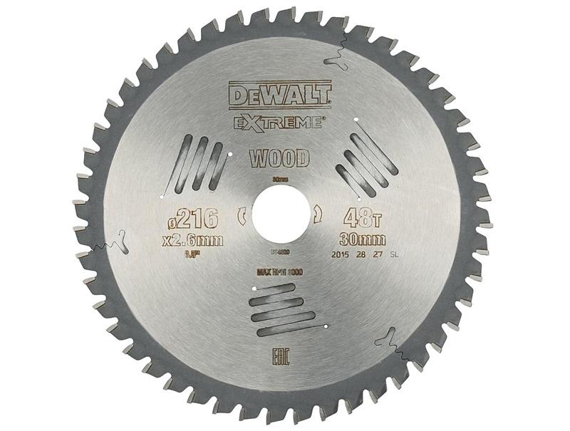 Пильный диск (216х30мм) DeWALT DT4320