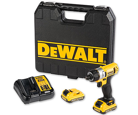 Аккумуляторный шуруповерт DeWALT DCF610D2