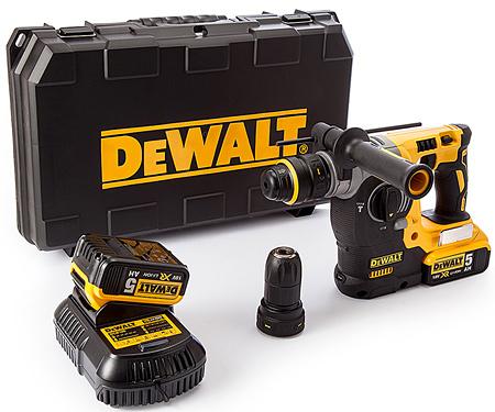 Аккумуляторный перфоратор DeWALT DCH274P2