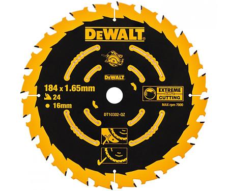 Пильный диск (184х16мм) DeWALT DT10303