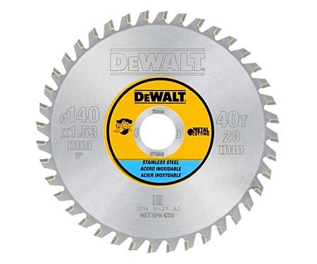 Пильный диск (140х20мм) DeWALT DT1918